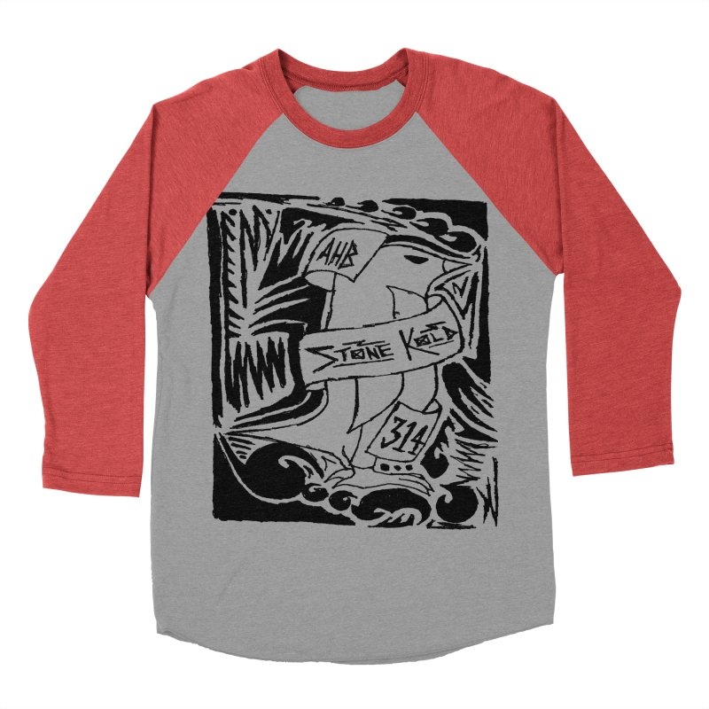 Stone Kold Women's Baseball Triblend T-Shirt by ArtHeartB