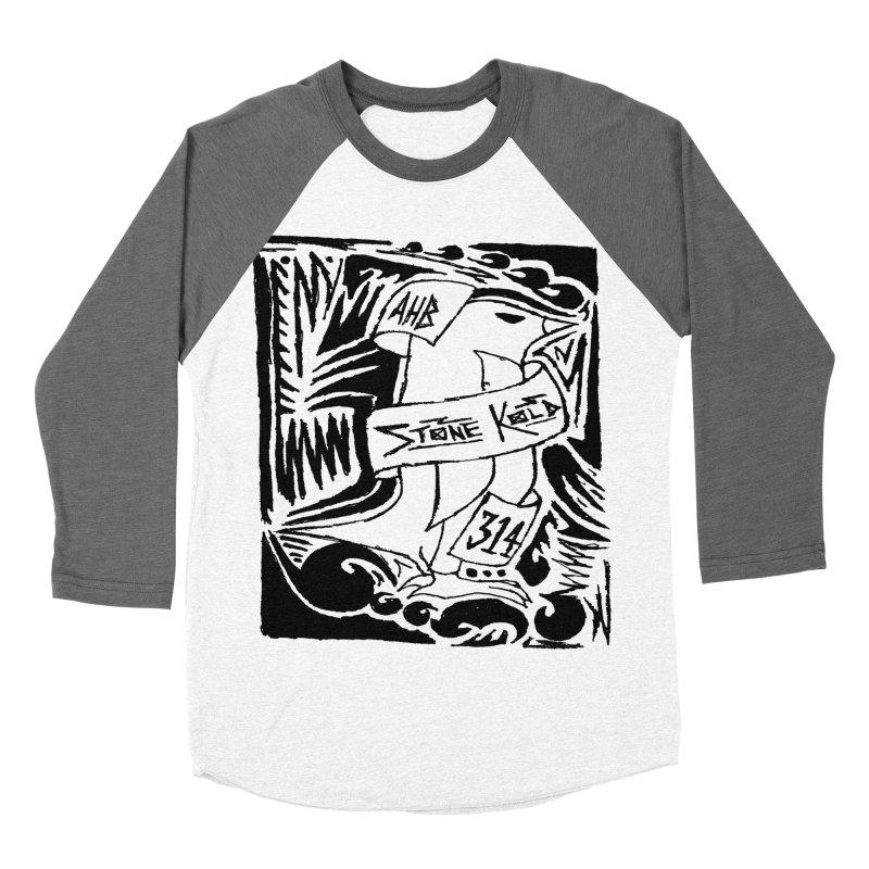 Stone Kold Men's Baseball Triblend T-Shirt by ArtHeartB