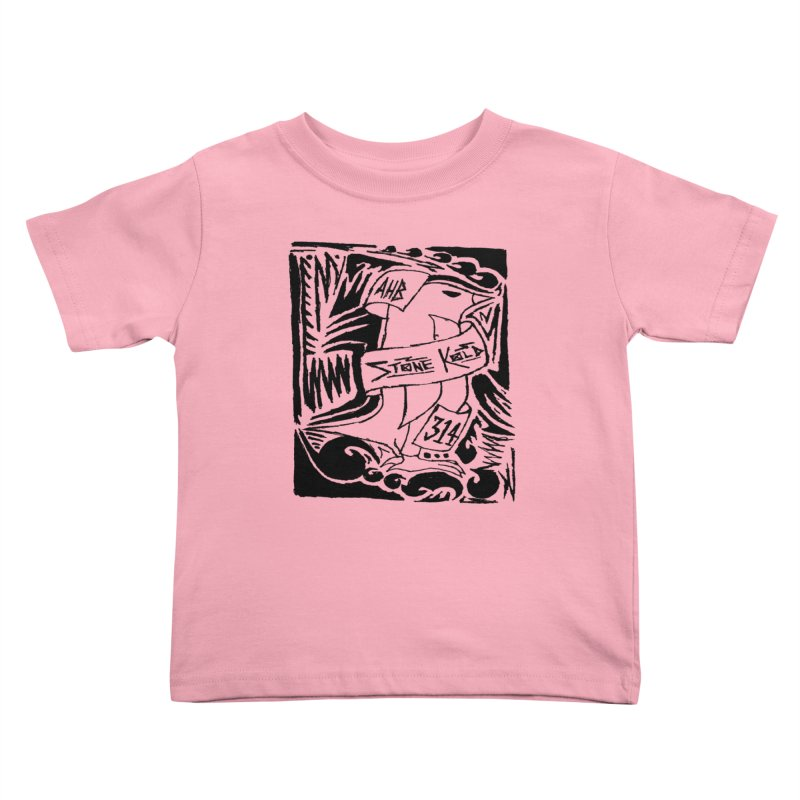 Stone Kold Kids Toddler T-Shirt by ArtHeartB