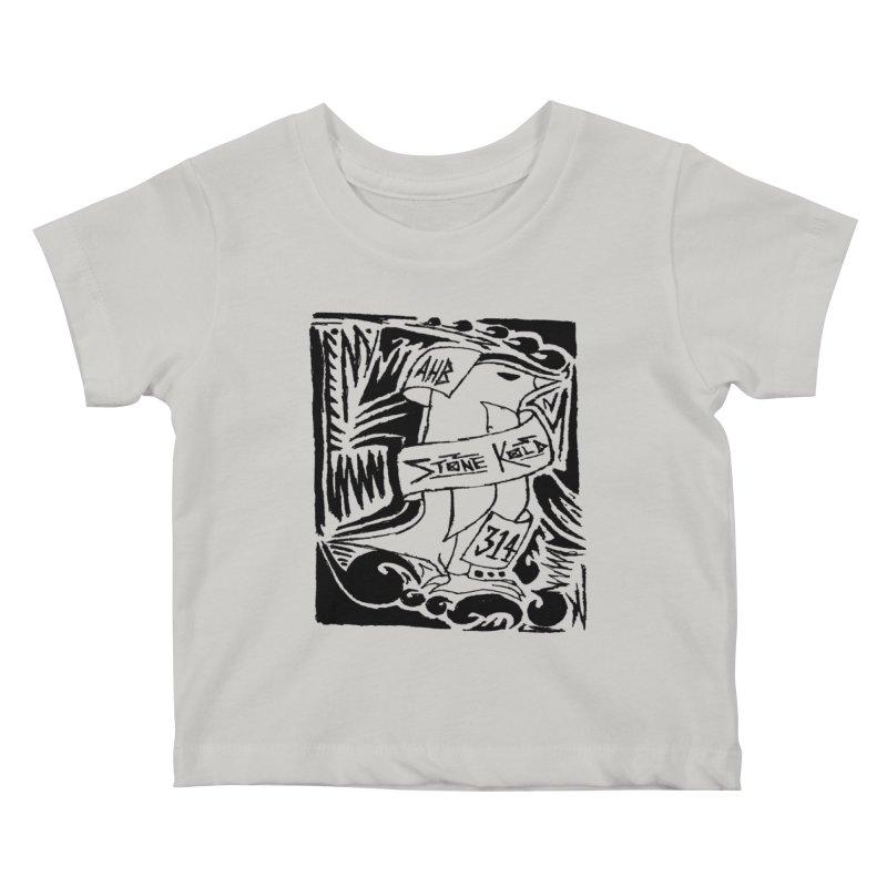 Stone Kold Kids Baby T-Shirt by ArtHeartB