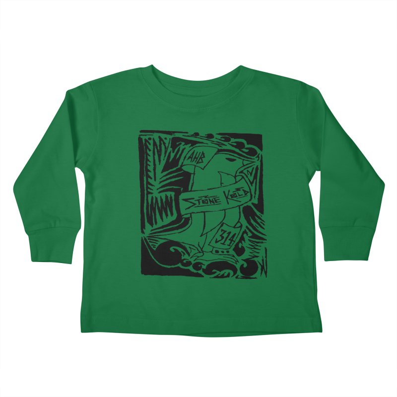 Stone Kold Kids Toddler Longsleeve T-Shirt by ArtHeartB