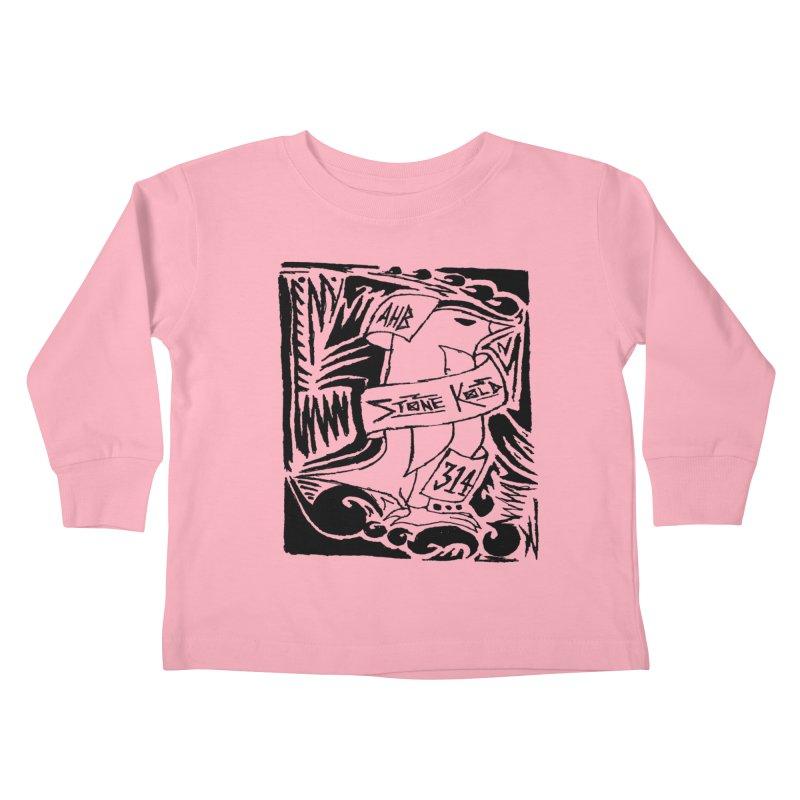Stone Kold Kids Toddler Longsleeve T-Shirt by ArtHeartB