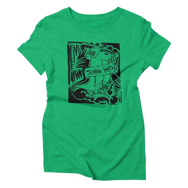 Stone Kold Women's Triblend T-Shirt by ArtHeartB