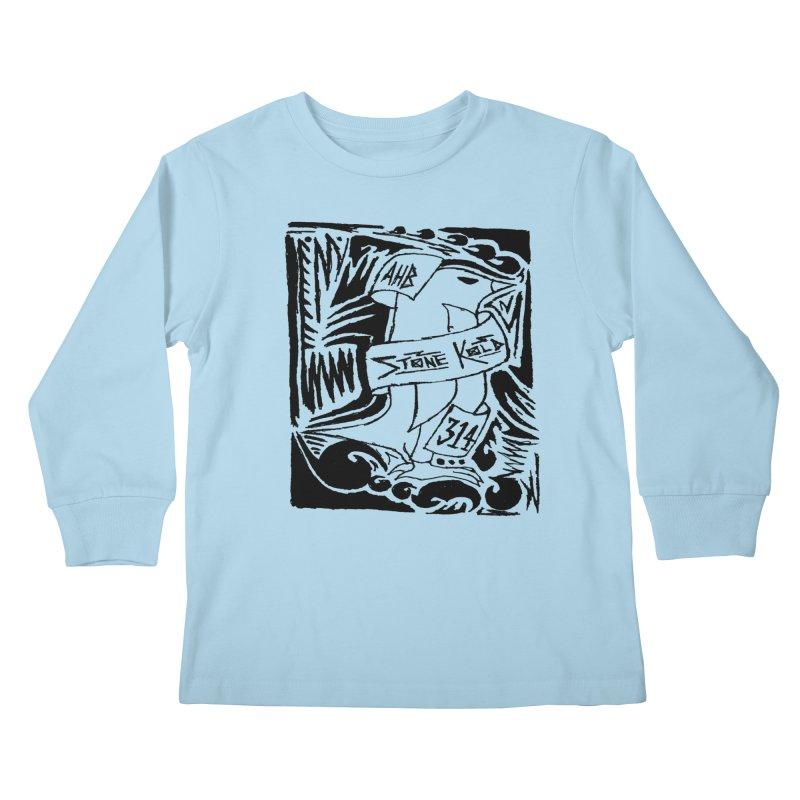 Stone Kold Kids Longsleeve T-Shirt by ArtHeartB