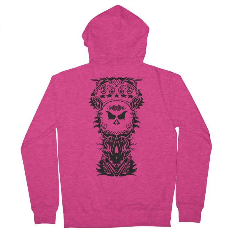 King Vicious Women's Zip-Up Hoody by ArtHeartB
