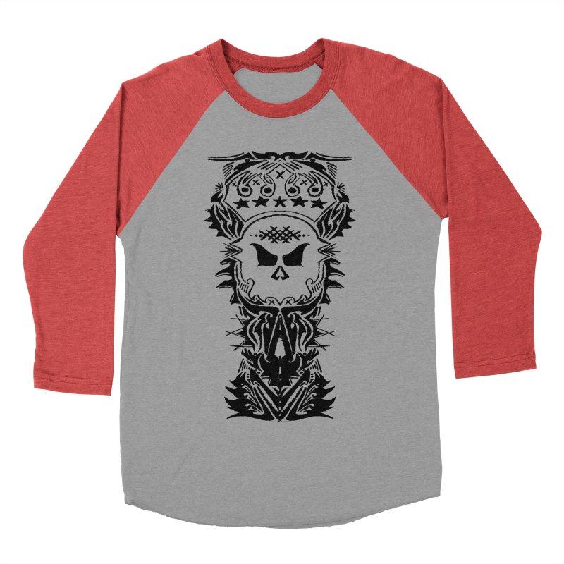King Vicious Women's Baseball Triblend T-Shirt by ArtHeartB
