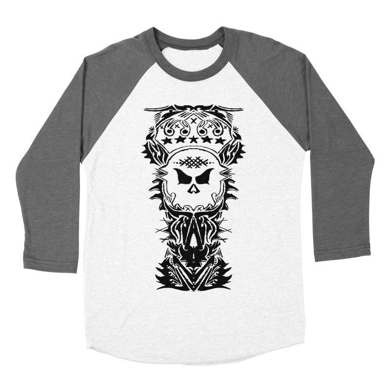 King Vicious Men's Baseball Triblend T-Shirt by ArtHeartB