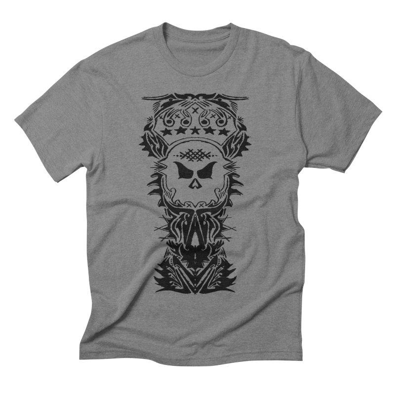 King Vicious Men's Triblend T-shirt by ArtHeartB