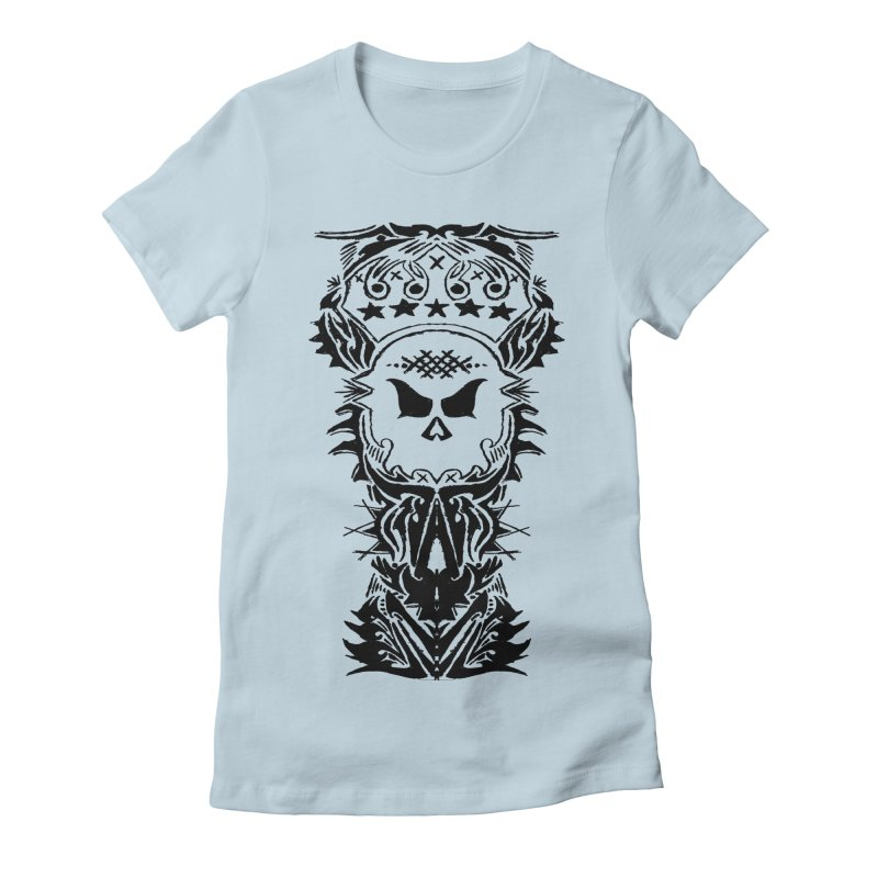 King Vicious Women's Fitted T-Shirt by ArtHeartB
