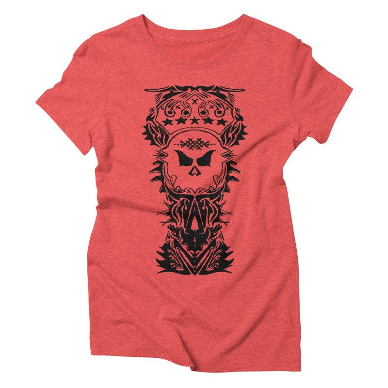 King Vicious Women's Triblend T-shirt by ArtHeartB