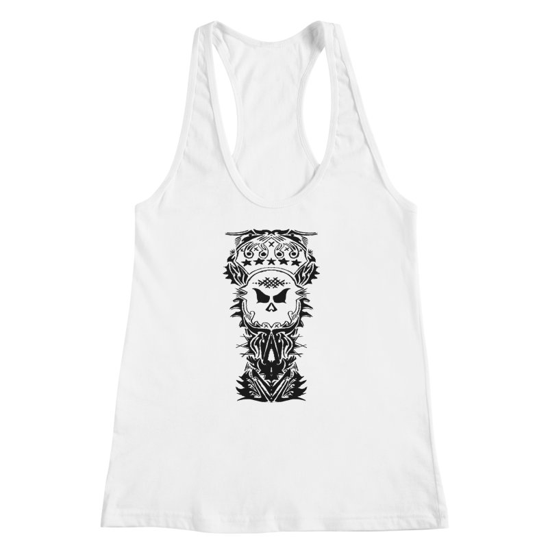 King Vicious Women's Racerback Tank by ArtHeartB