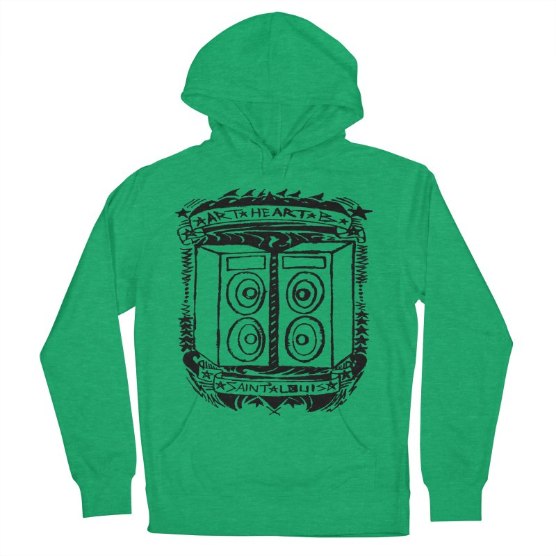 The Big Speakers Women's Pullover Hoody by ArtHeartB