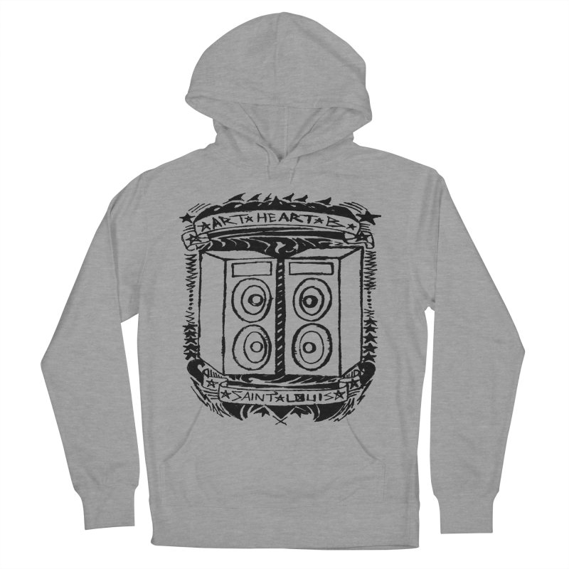 The Big Speakers Men's Pullover Hoody by ArtHeartB