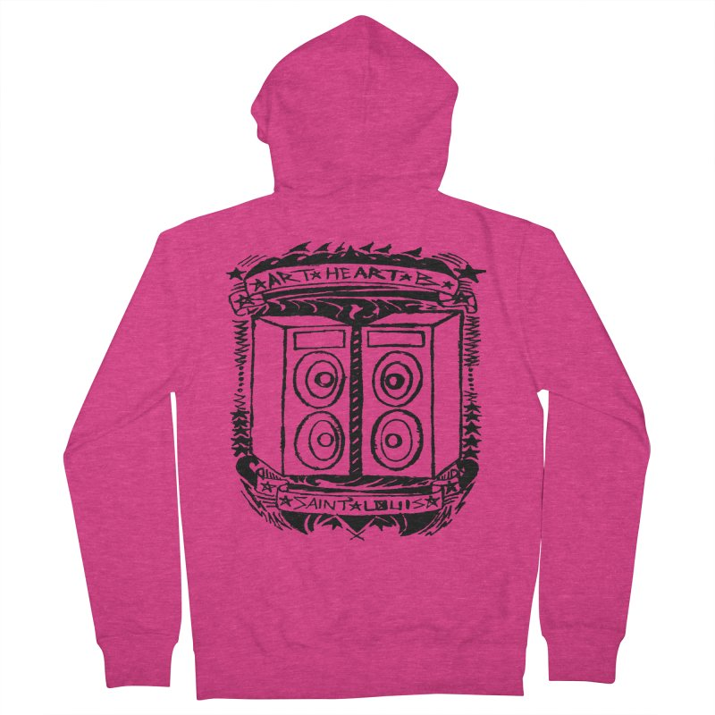 The Big Speakers Women's Zip-Up Hoody by ArtHeartB