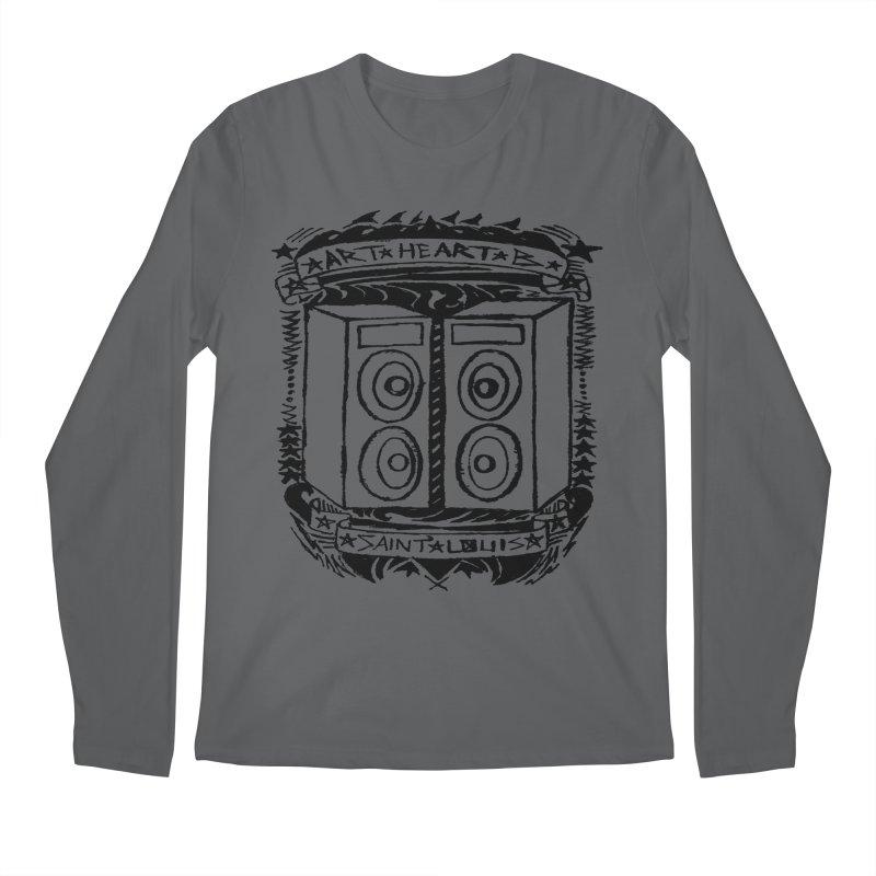 The Big Speakers Men's Longsleeve T-Shirt by ArtHeartB