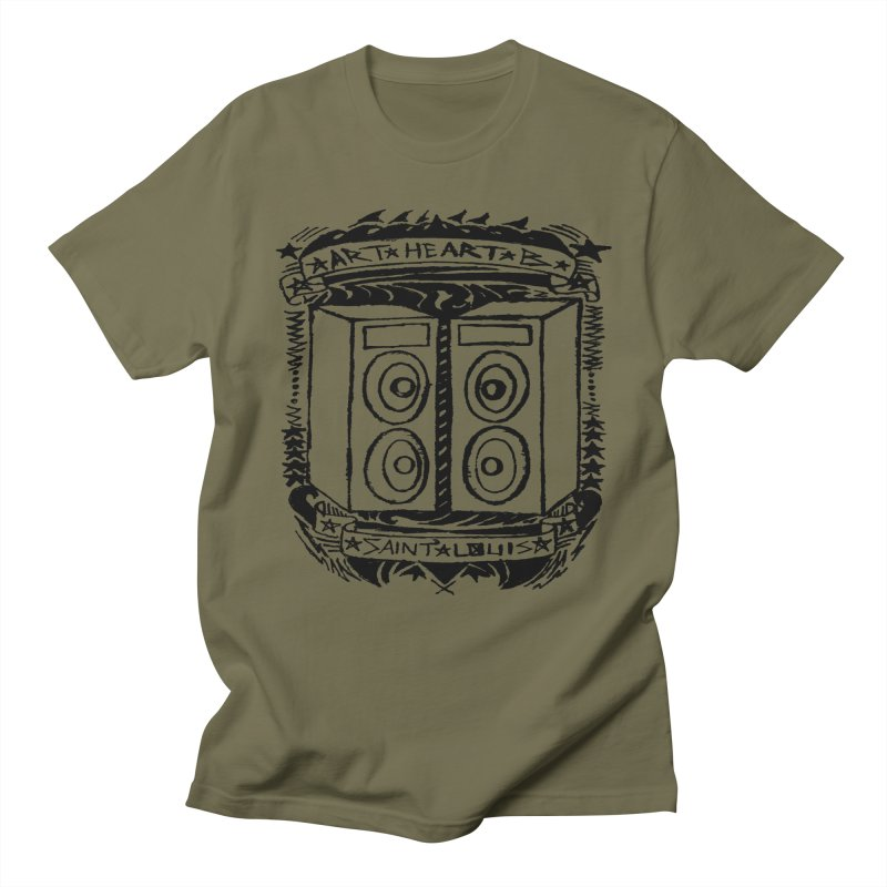 The Big Speakers Men's T-Shirt by ArtHeartB