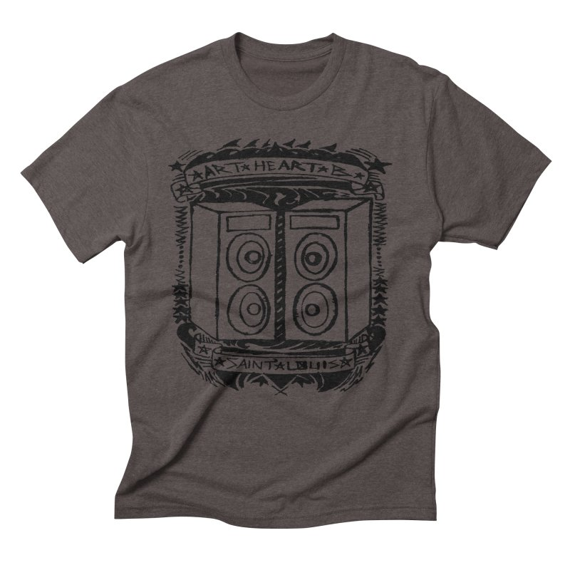The Big Speakers Men's Triblend T-shirt by ArtHeartB