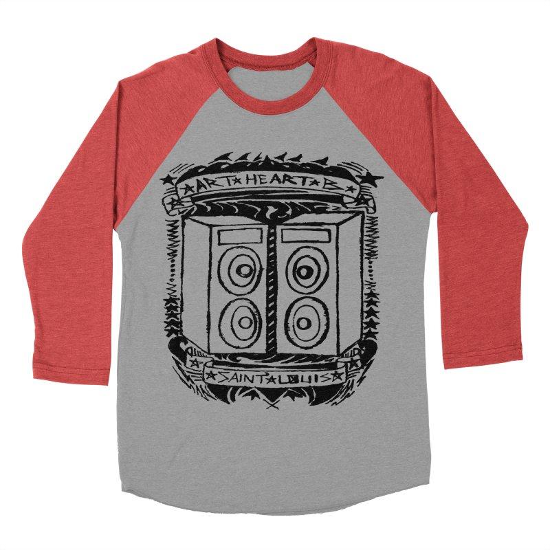 The Big Speakers Men's Baseball Triblend T-Shirt by ArtHeartB