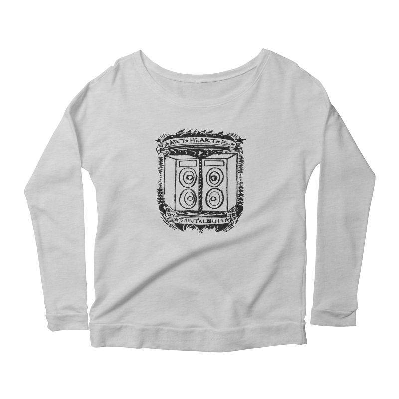 The Big Speakers Women's Longsleeve T-Shirt by ArtHeartB