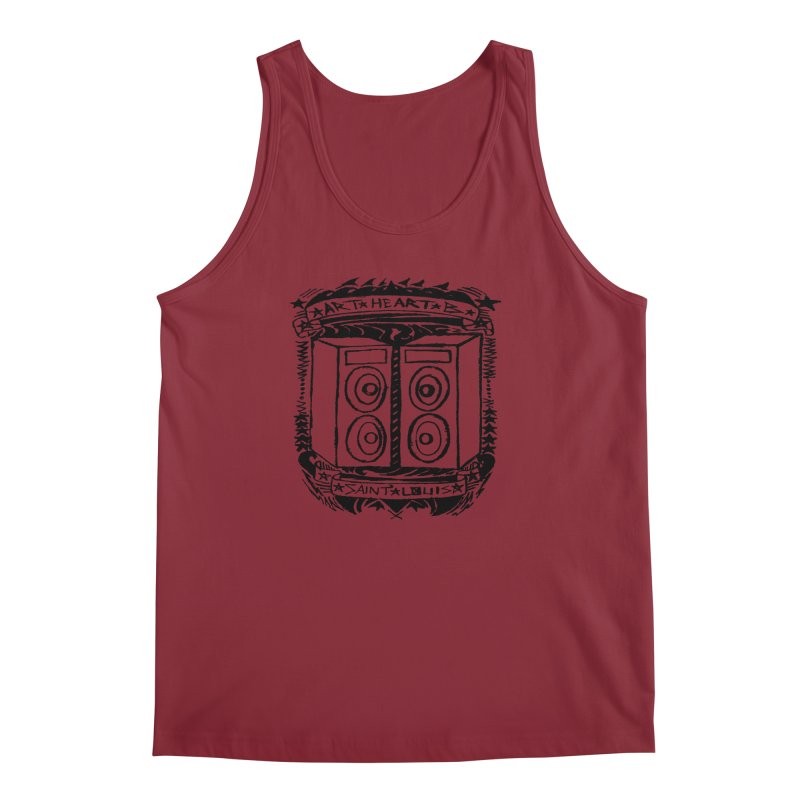The Big Speakers Men's Tank by ArtHeartB