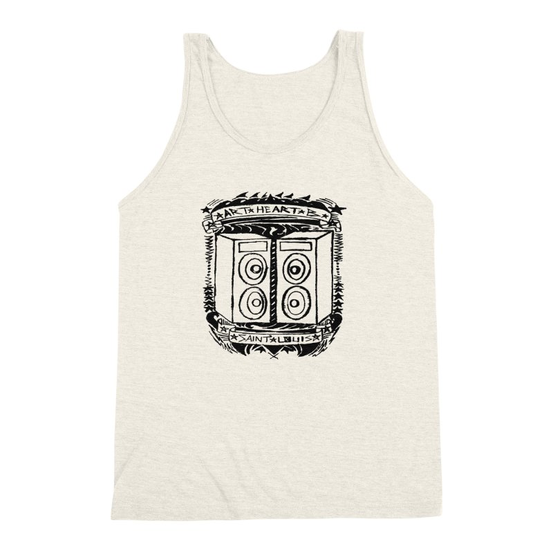 The Big Speakers Men's Triblend Tank by ArtHeartB