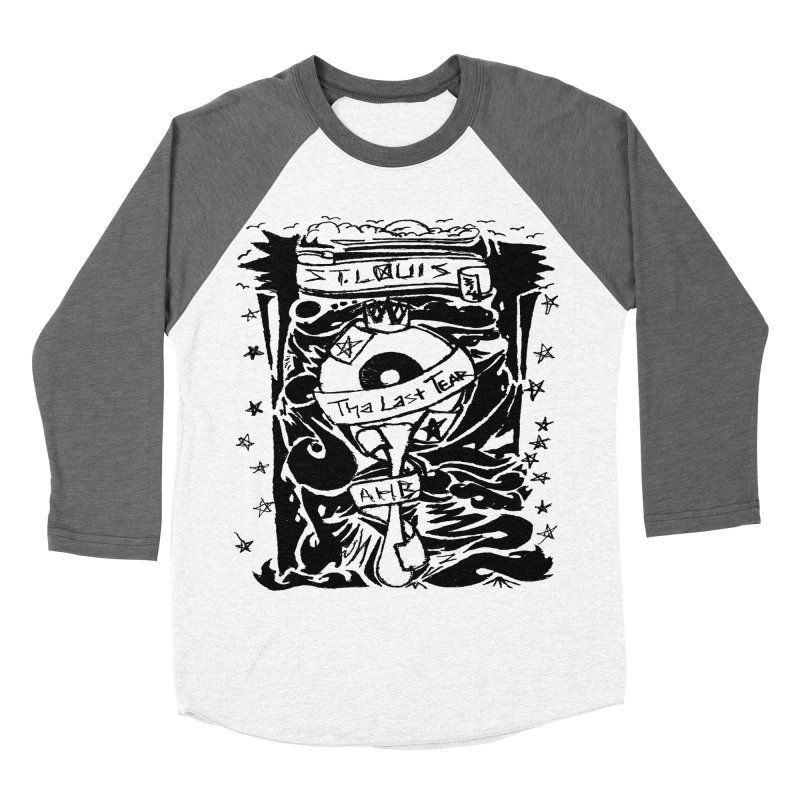 That Last Tear Men's Baseball Triblend T-Shirt by ArtHeartB