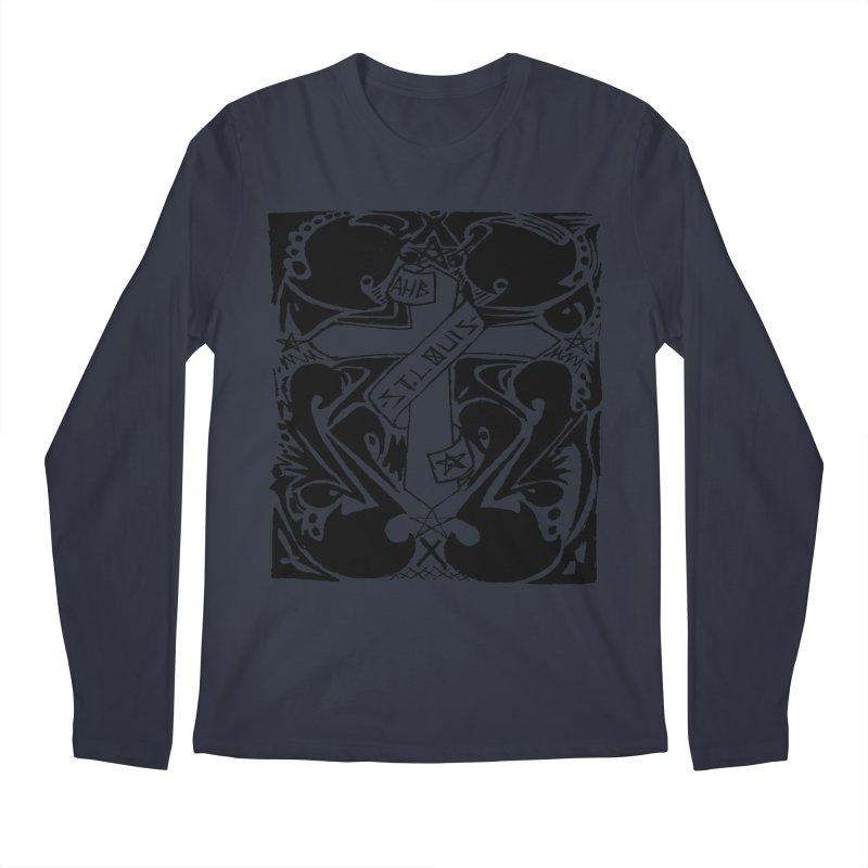 Tribal Kross Men's Longsleeve T-Shirt by ArtHeartB