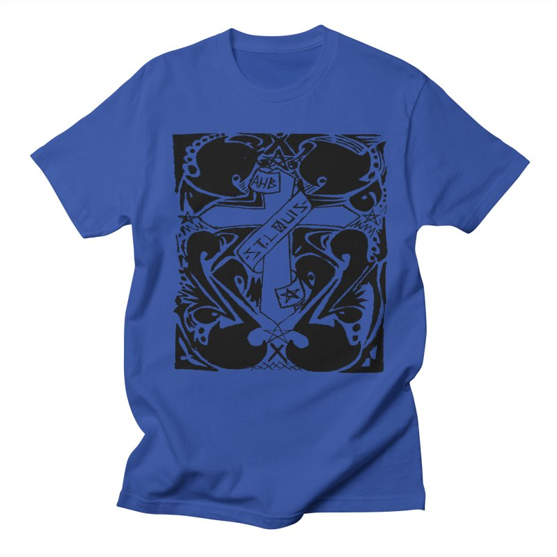Tribal Kross Men's T-Shirt by ArtHeartB