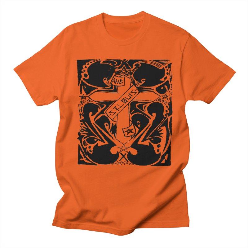 Tribal Kross Men's T-Shirt by ArtHeartB