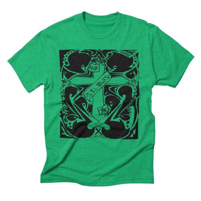 Tribal Kross Men's Triblend T-Shirt by ArtHeartB