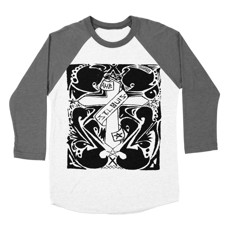 Tribal Kross Women's Baseball Triblend T-Shirt by ArtHeartB