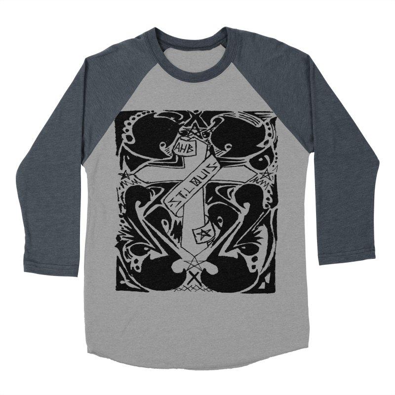 Tribal Kross Men's Baseball Triblend T-Shirt by ArtHeartB