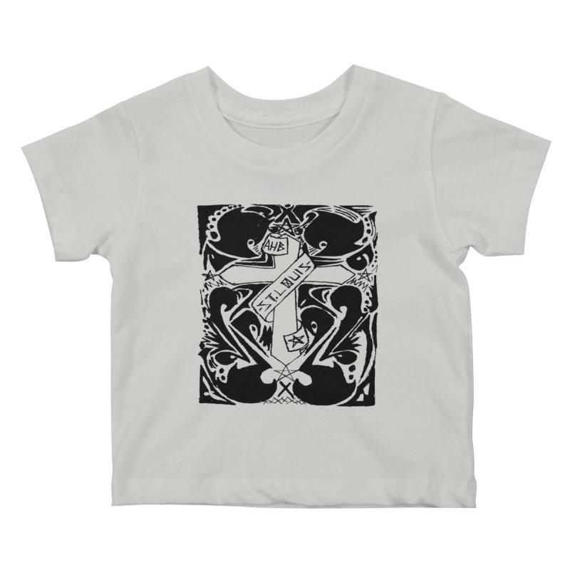 Tribal Kross Kids Baby T-Shirt by ArtHeartB