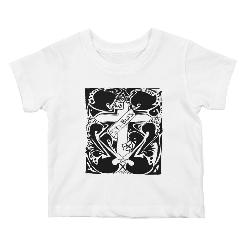 Tribal Kross Kids Baby T-Shirt by ArtHeartB