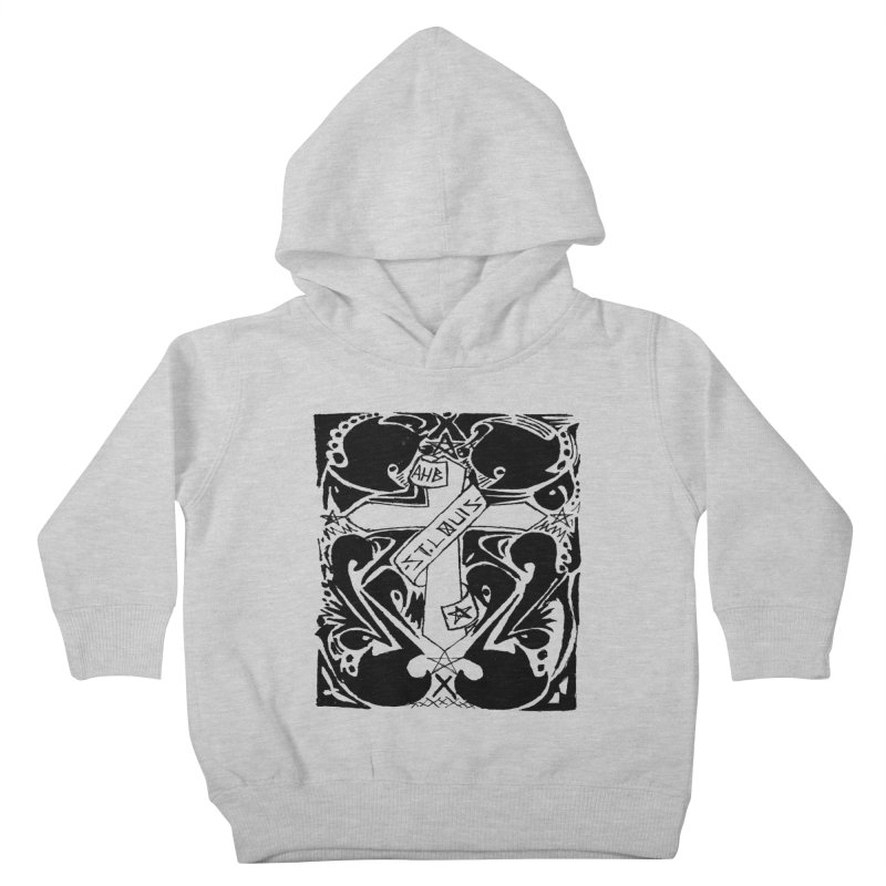Tribal Kross Kids Toddler Pullover Hoody by ArtHeartB