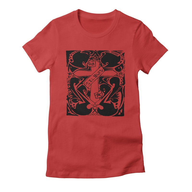 Tribal Kross Women's Fitted T-Shirt by ArtHeartB