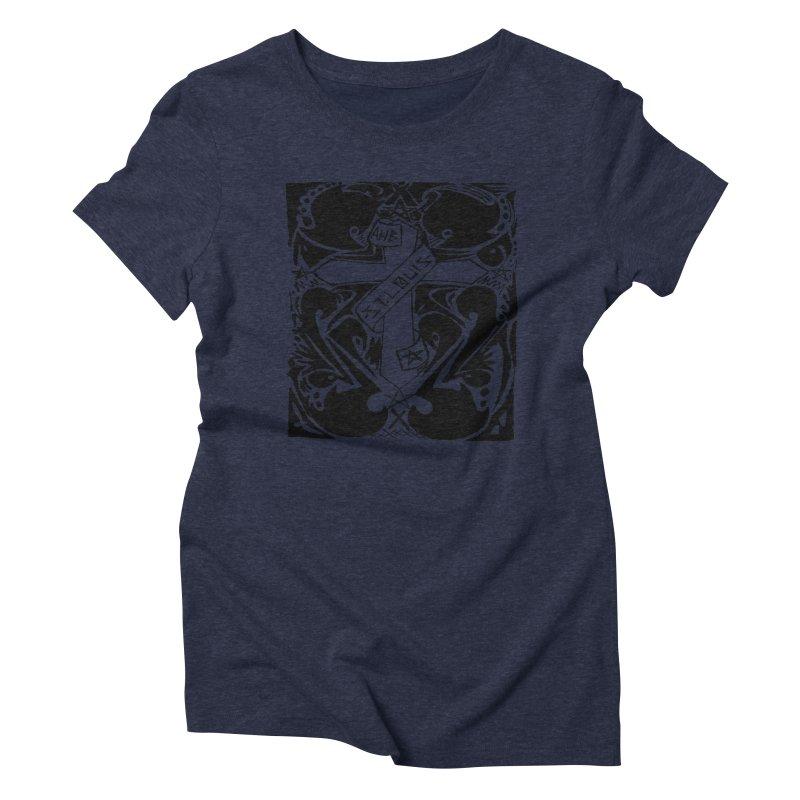 Tribal Kross Women's Triblend T-shirt by ArtHeartB