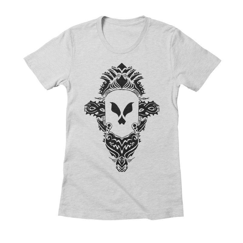 Tribe Tribe Women's Fitted T-Shirt by ArtHeartB