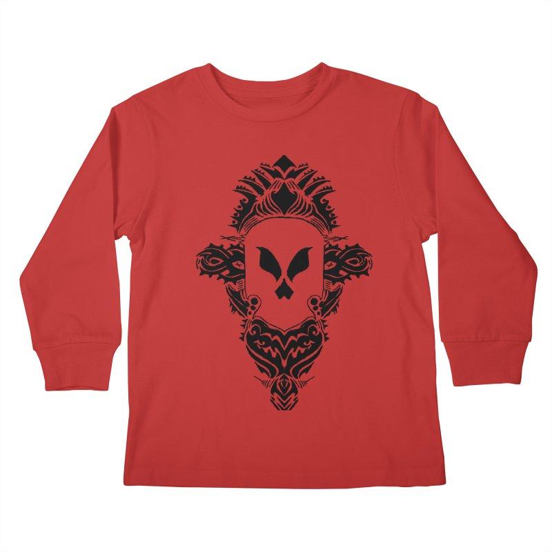 Tribe Tribe Kids Longsleeve T-Shirt by ArtHeartB