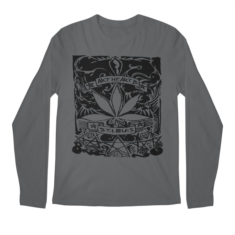Weed And Diamonds Men's Longsleeve T-Shirt by ArtHeartB
