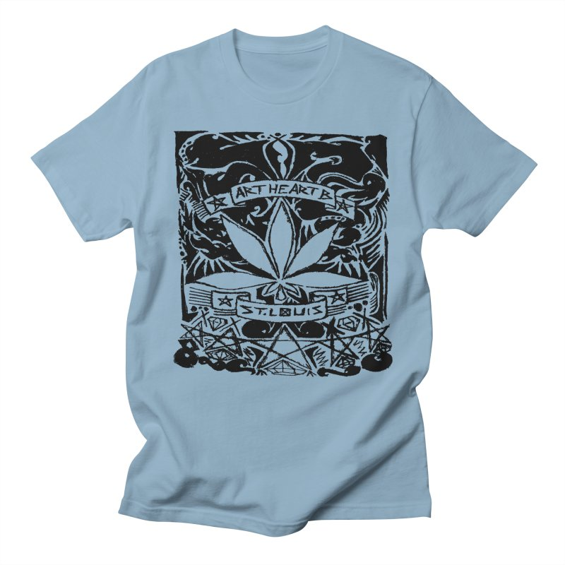 Weed And Diamonds Men's T-Shirt by ArtHeartB