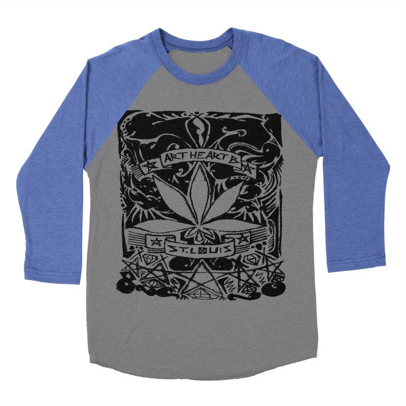 Weed And Diamonds Women's Baseball Triblend T-Shirt by ArtHeartB