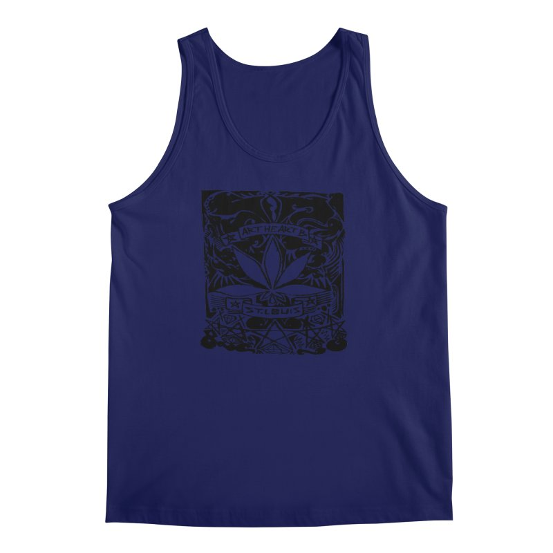 Weed And Diamonds Men's Tank by ArtHeartB