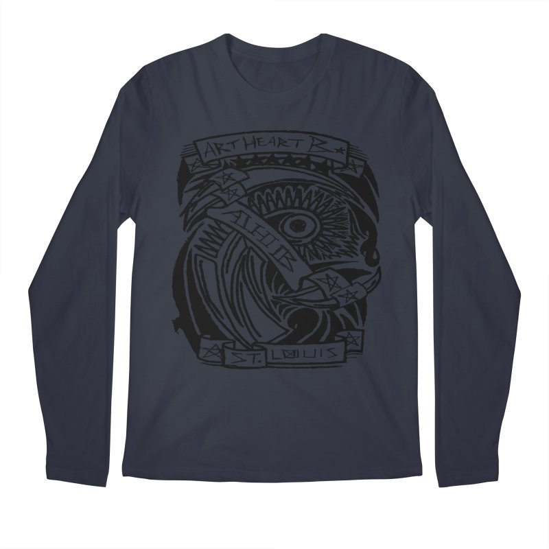 Yah! Yah! Men's Longsleeve T-Shirt by ArtHeartB