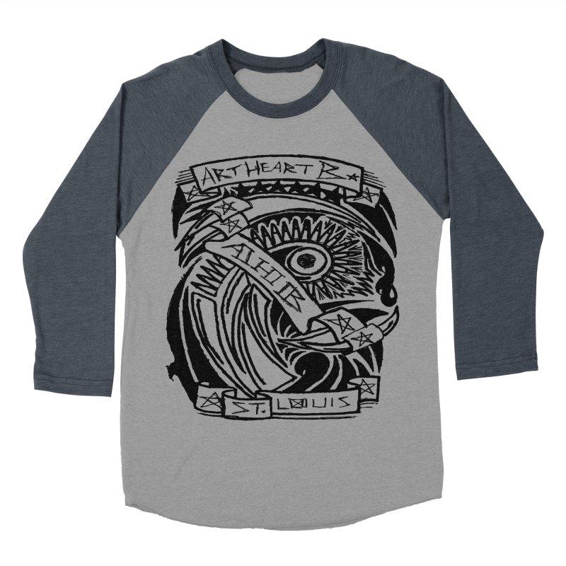 Yah! Yah! Women's Baseball Triblend T-Shirt by ArtHeartB