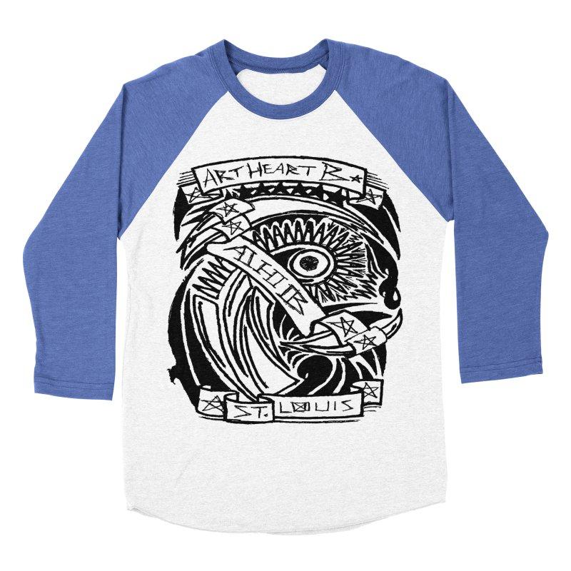 Yah! Yah! Men's Baseball Triblend T-Shirt by ArtHeartB