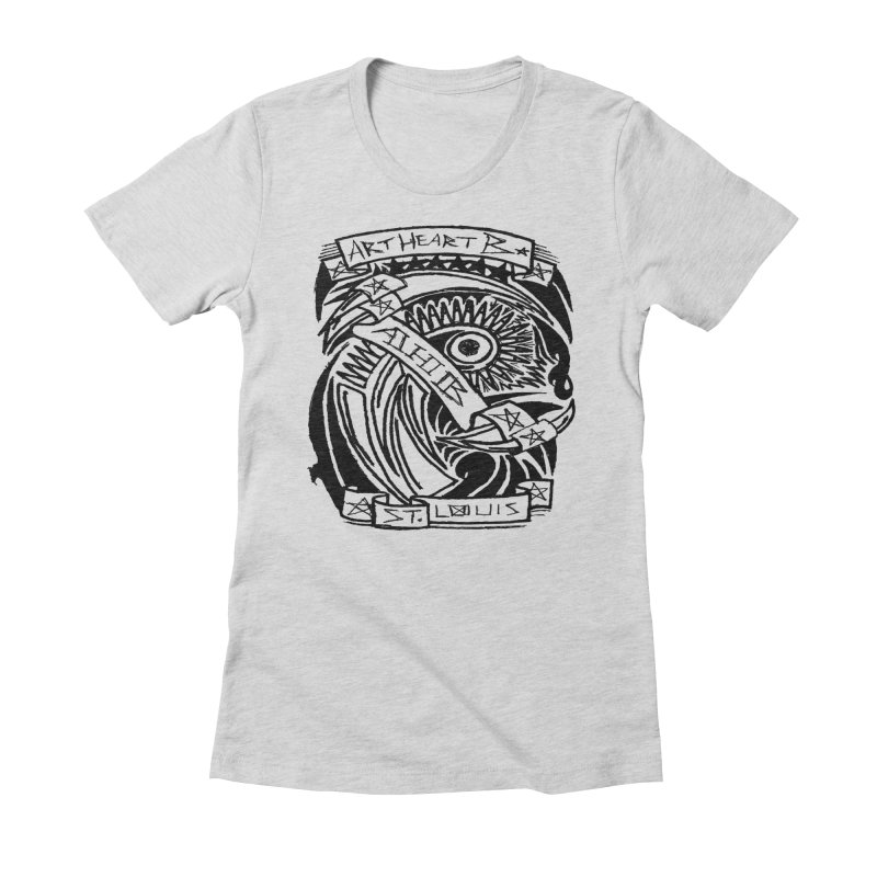 Yah! Yah! Women's Fitted T-Shirt by ArtHeartB