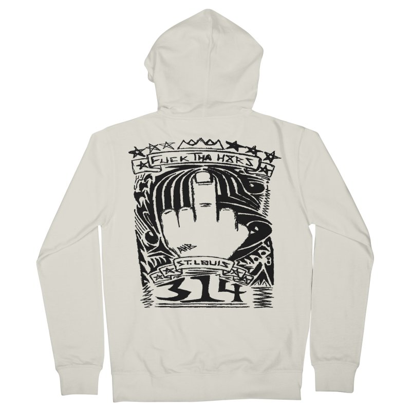 Fuck Tha H8rs Women's Zip-Up Hoody by ArtHeartB