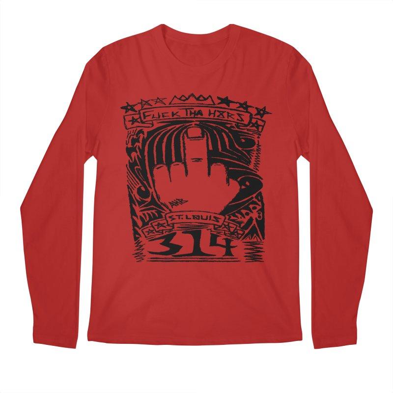 Fuck Tha H8rs Men's Longsleeve T-Shirt by ArtHeartB