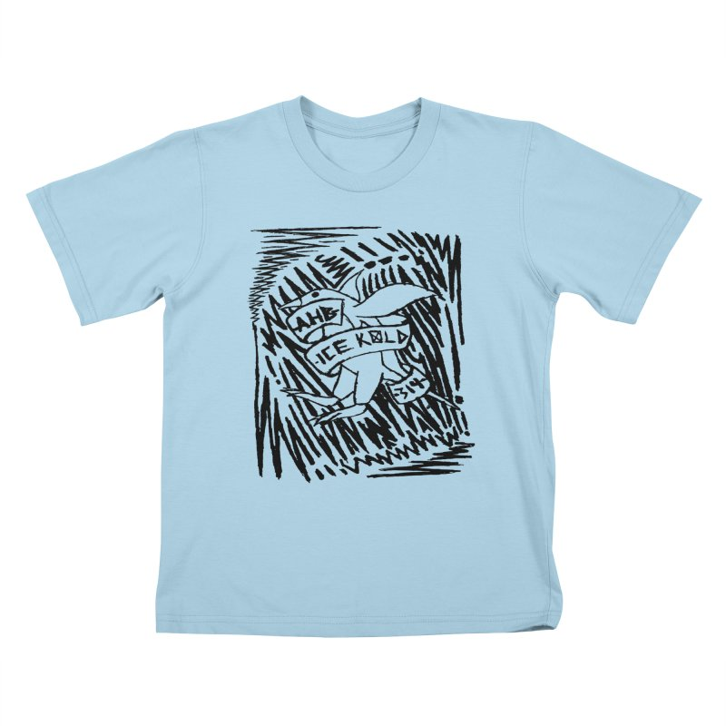 Ice Kold Kids T-Shirt by ArtHeartB